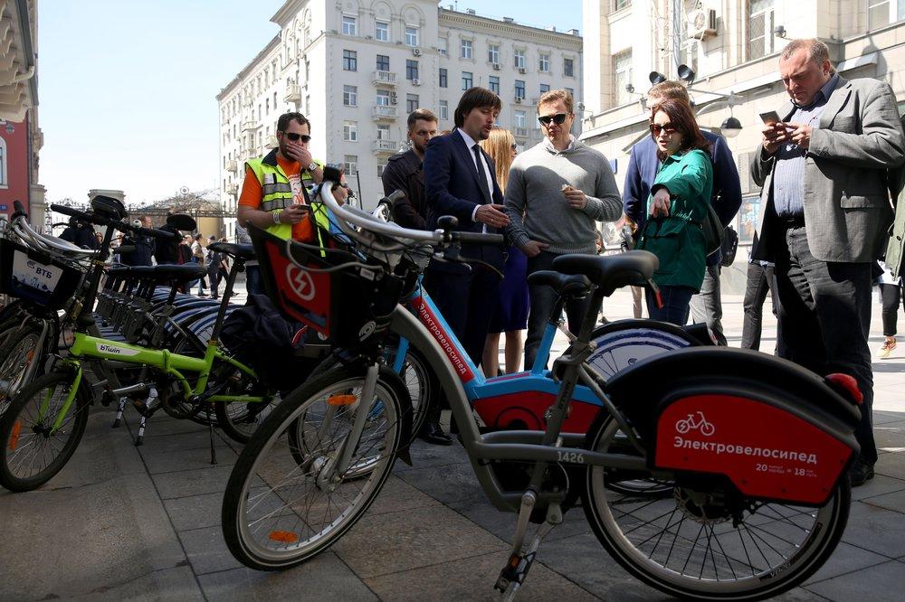 Открытие сезона работы городского велопроката
