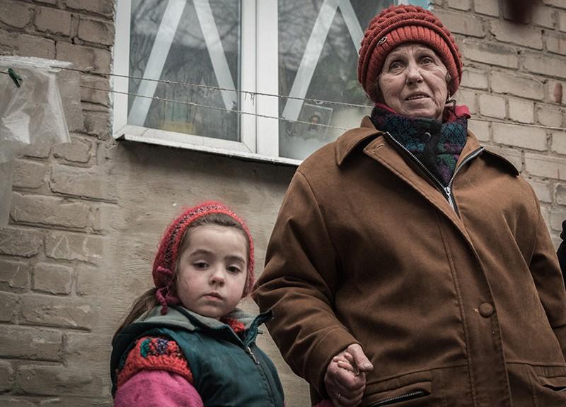 Жители Донбасса