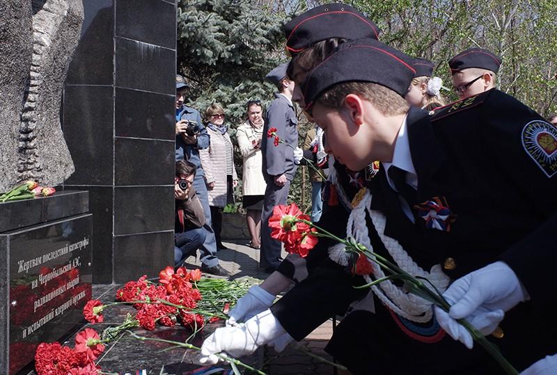 Памятные мероприятия в годовщину аварии на Чернобыльской АЭС