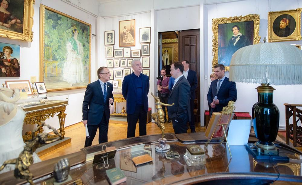 Посещение Государственного центрального театрального музея имени А.А. Бахрушина