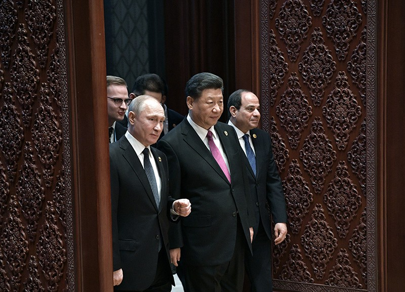 Рабочий визит Владимира Путина в Китай