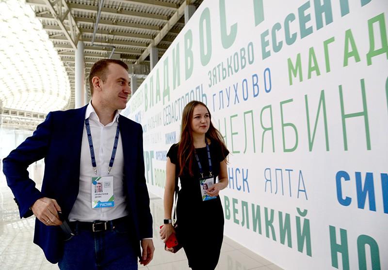 """Участники конкурса """"Лидеры России"""""""