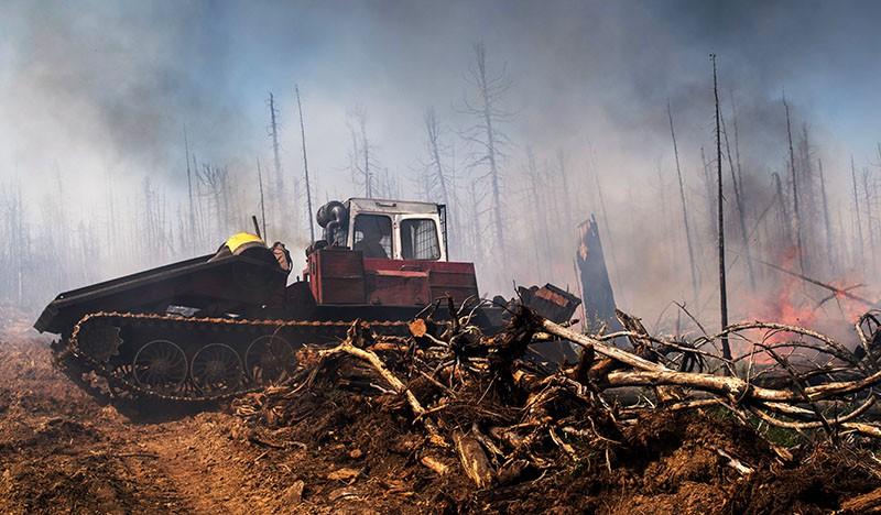 Последствия природных пожаров