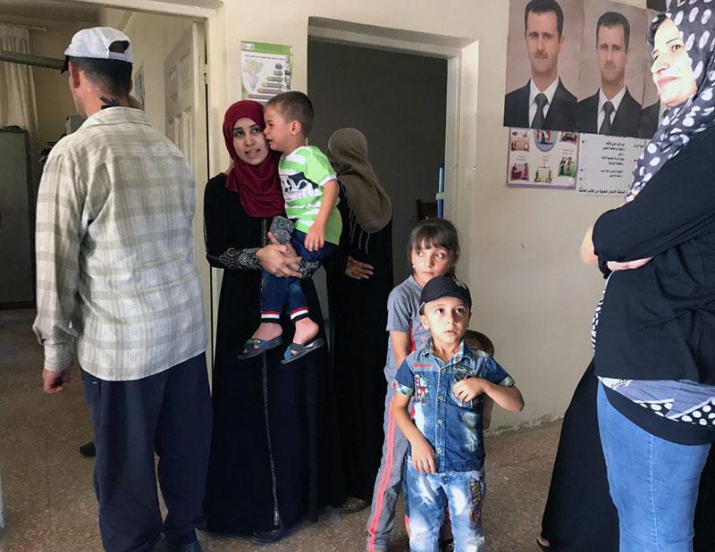 Поликлиника в Сирии
