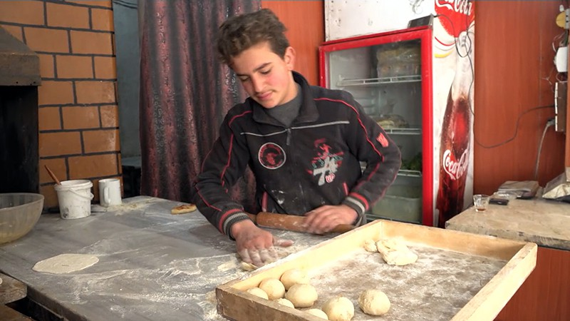 Пекарня в Сирии