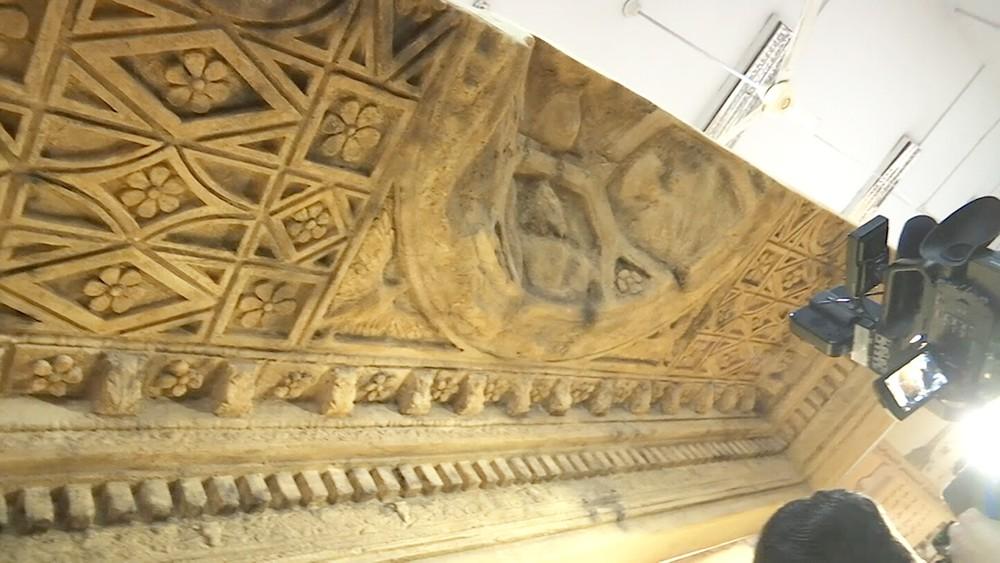 Фрагмент потолка храма Баалы