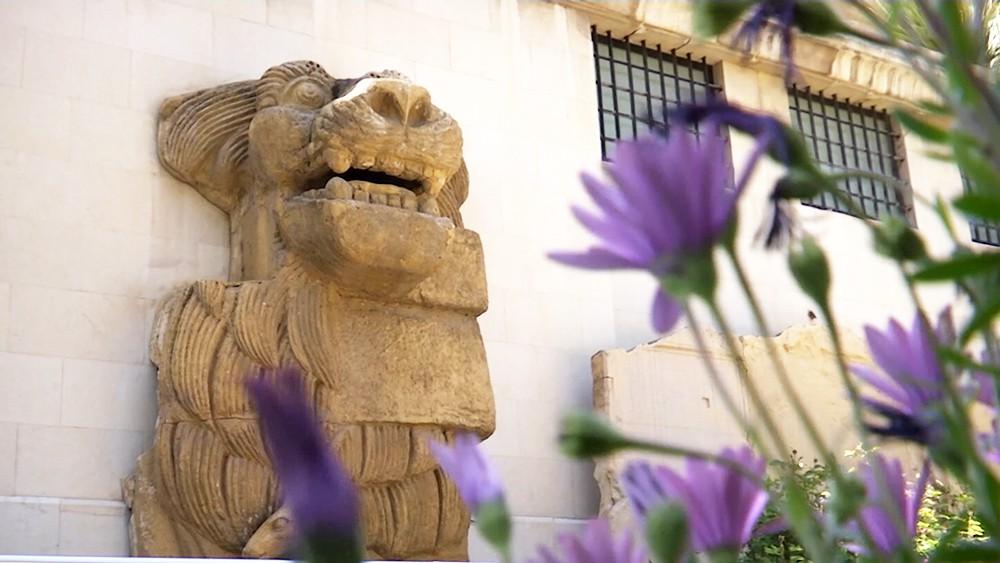 Экспонат в музее Дамаска