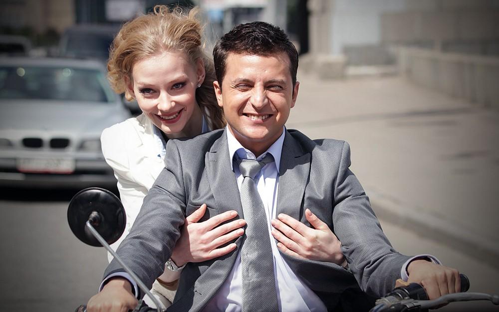 Владимир Зеленский и Светлана Ходченкова