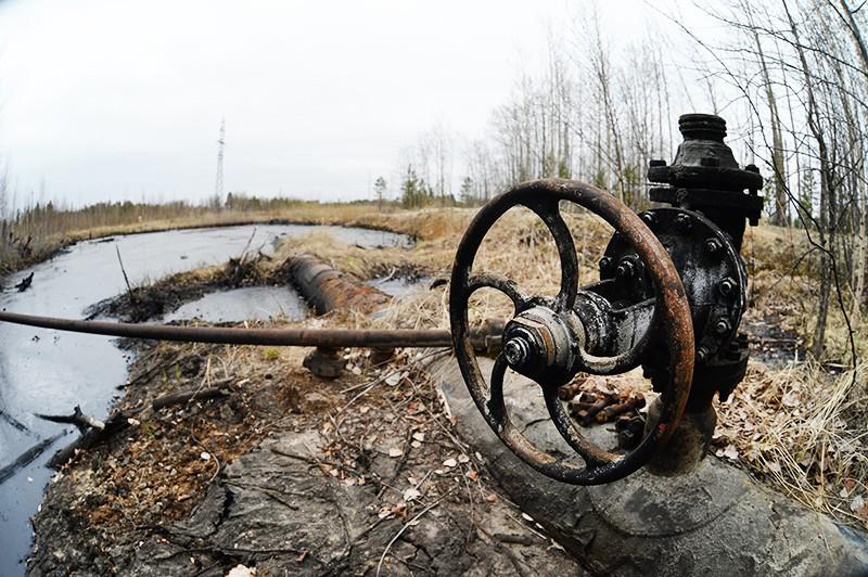 Старый нефтепровод