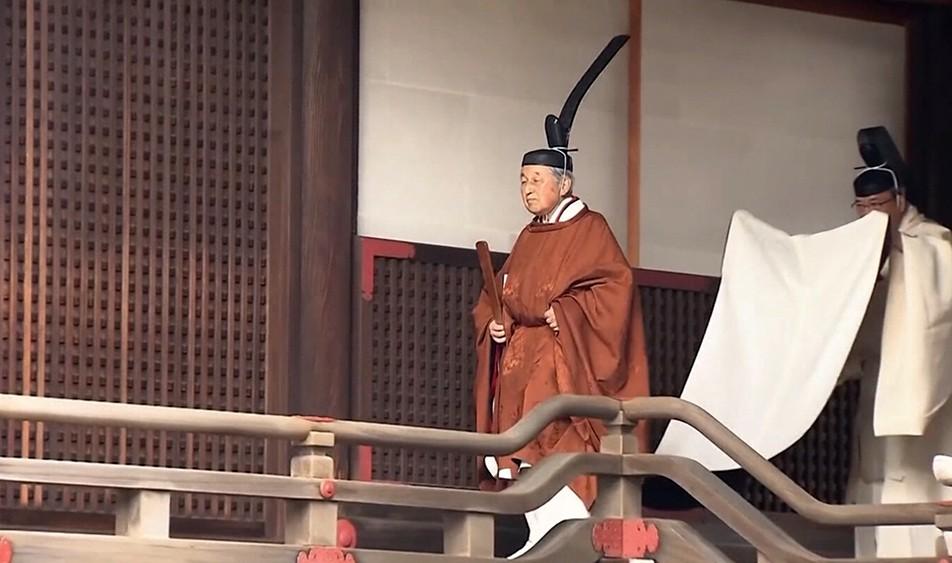 Бывший император Японии Акихито