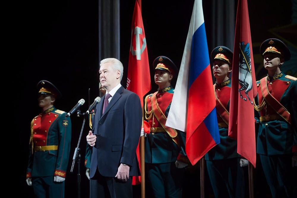 Сергей Собянин на встрече с ветеранами