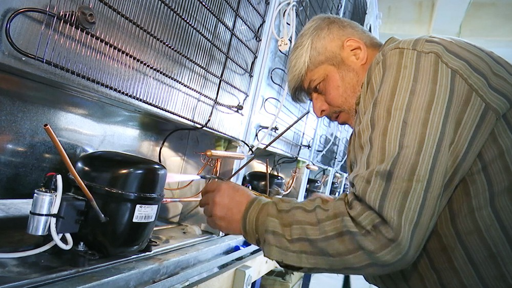 Производство холодильников в Сирии
