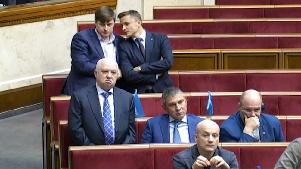 Депутаты Верховной Рады Украины