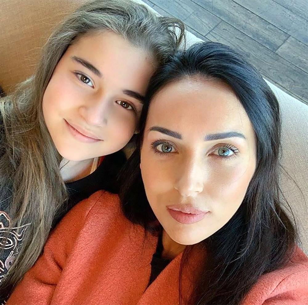 Певица Алсу со своей дочерью Микеллой