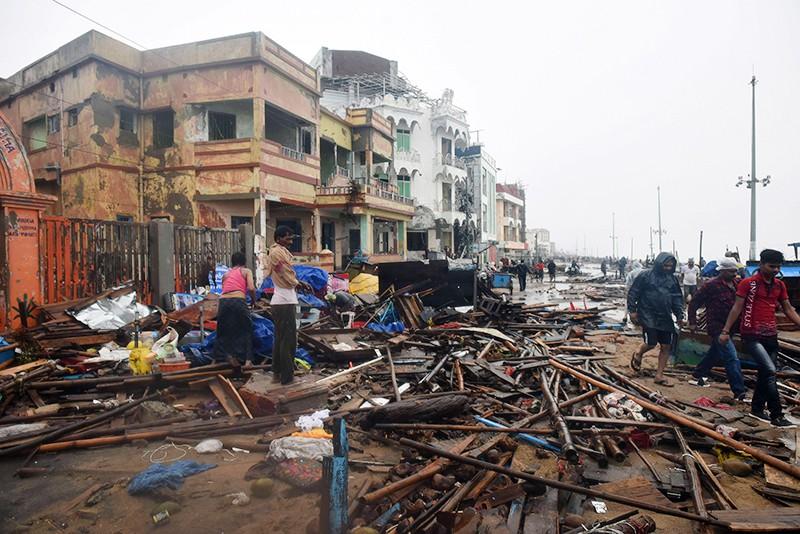 """Последствия урагана """"Фани"""" в Индии"""