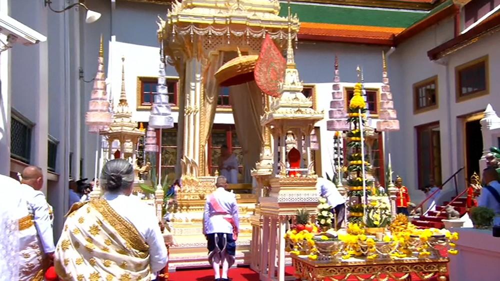 Церемония коронации в Таиланде