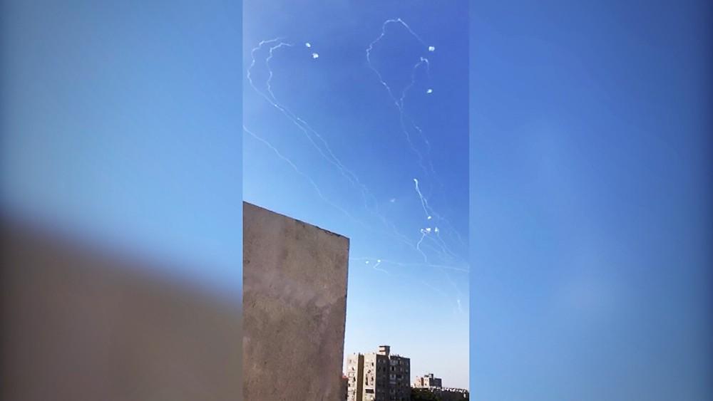 ПВО Израиля отразила атаку со стороны Палестины