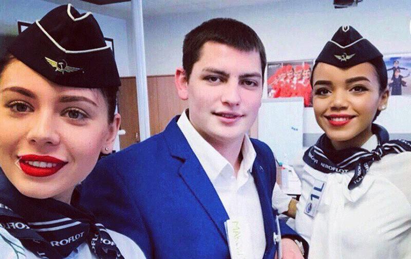 Погибший бортпроводник Максим Моисеев