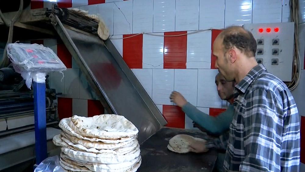 Мукомольный завод в Сирии