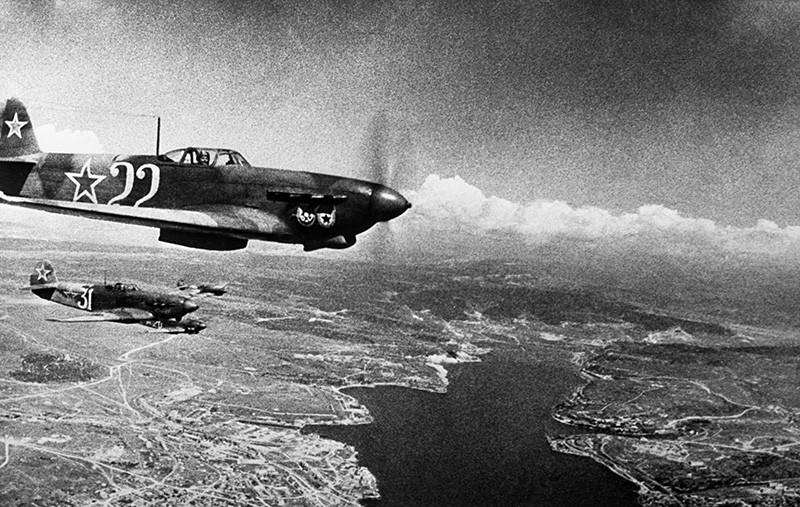 Истребители Як-9. Оборона Севастополя (сентябрь 1941 - июль 1942 гг.)