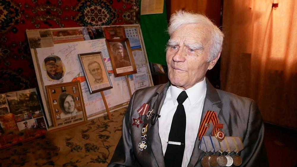 Ветеран ВОВ Григорий Ваганов
