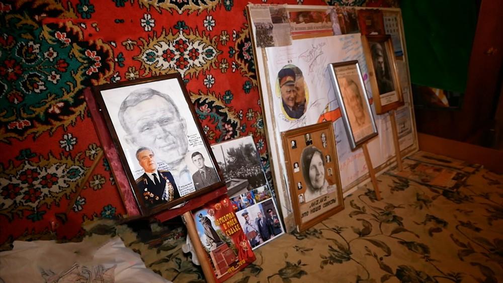 Родные ветерана ВОВ Григория Ваганова