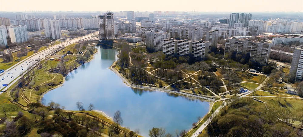 Район Очаково-Матвеевское в Москве