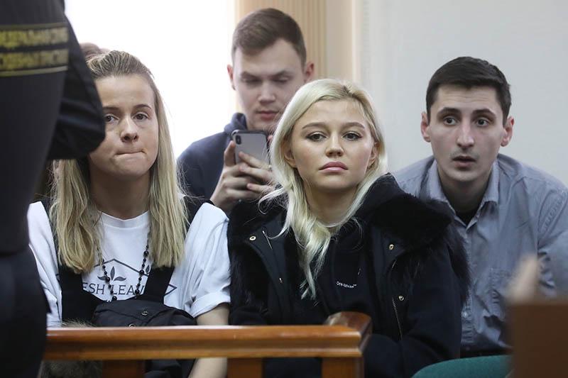 Супруга футболиста Александра Кокорина Дарья Валитова