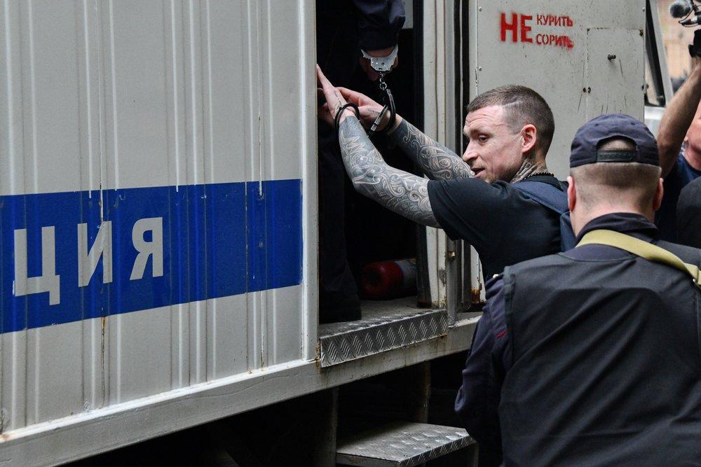 Футболист Павел Мамаев, признанный виновным в хулиганстве и побоях