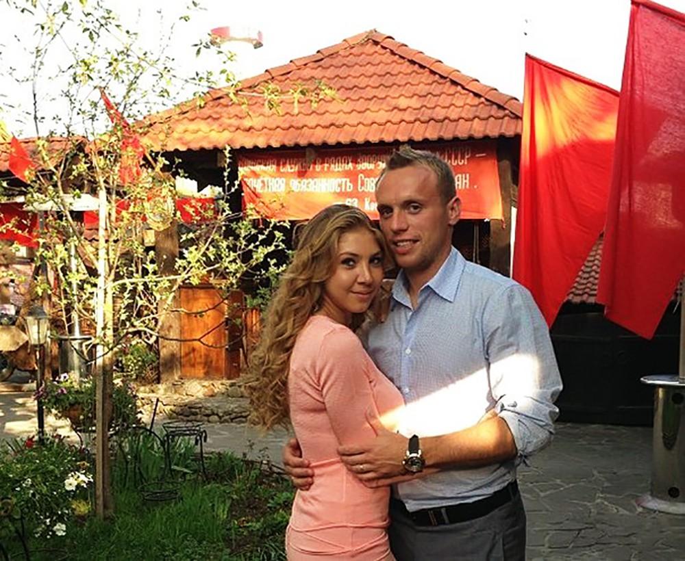 Денис Глушаков и Дарья Глушкова