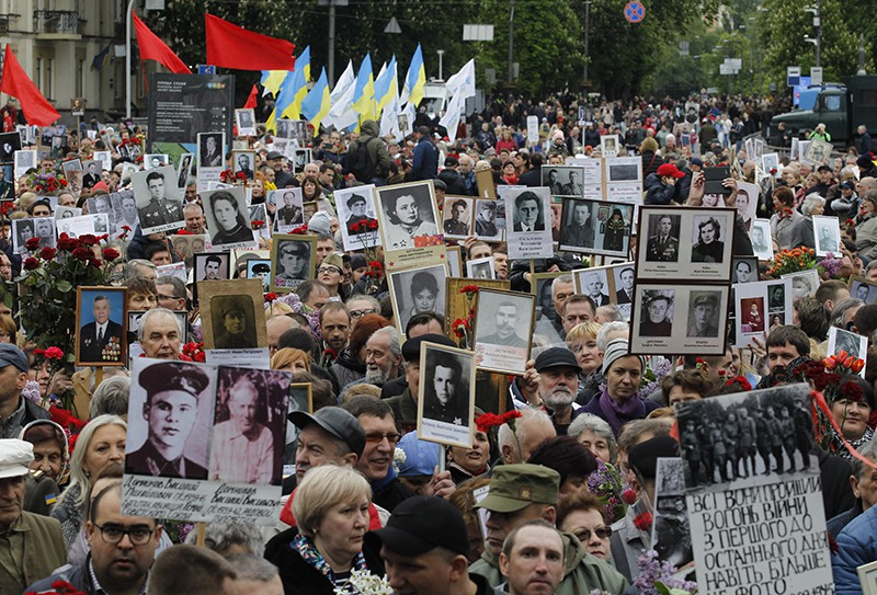 """Шествие памяти """"Никто не забыт"""" на Украине"""