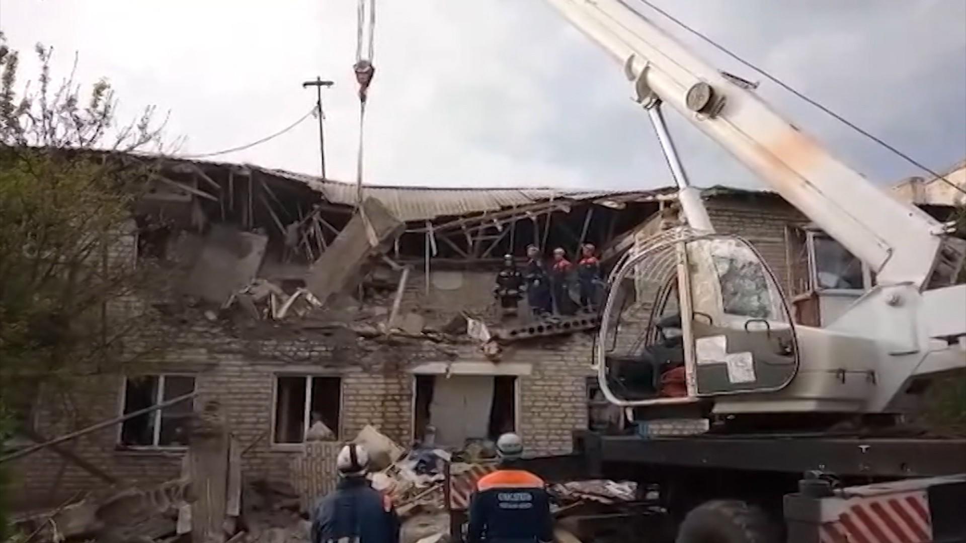 Взрыв газа в Ростовской области