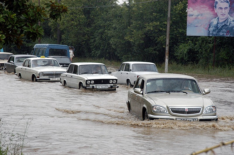 Потоп в Грузии