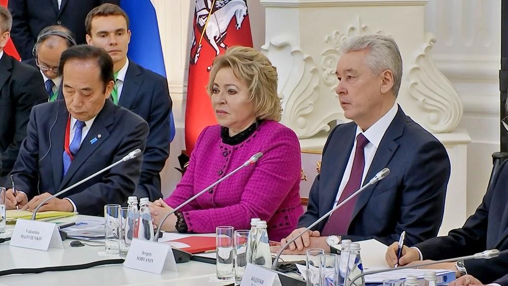Заседание Совета губернаторов России и Японии