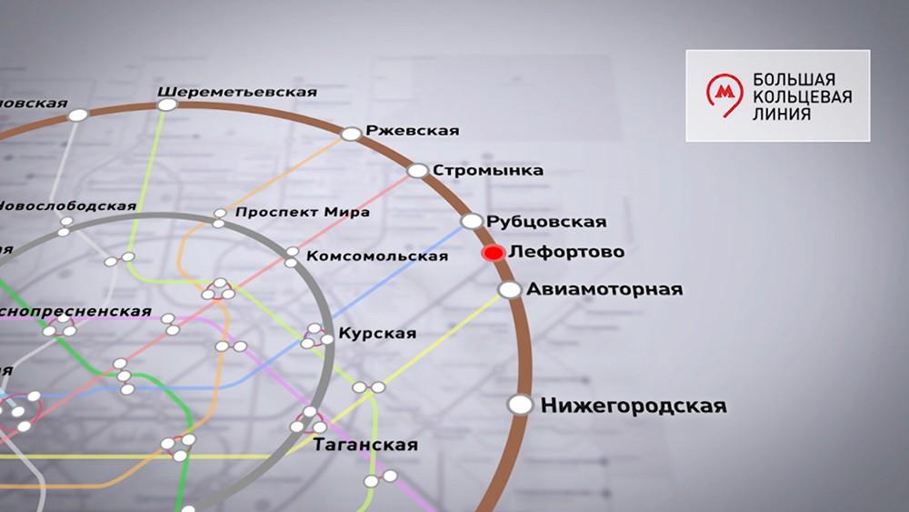 Строительство Большой кольцевой линии