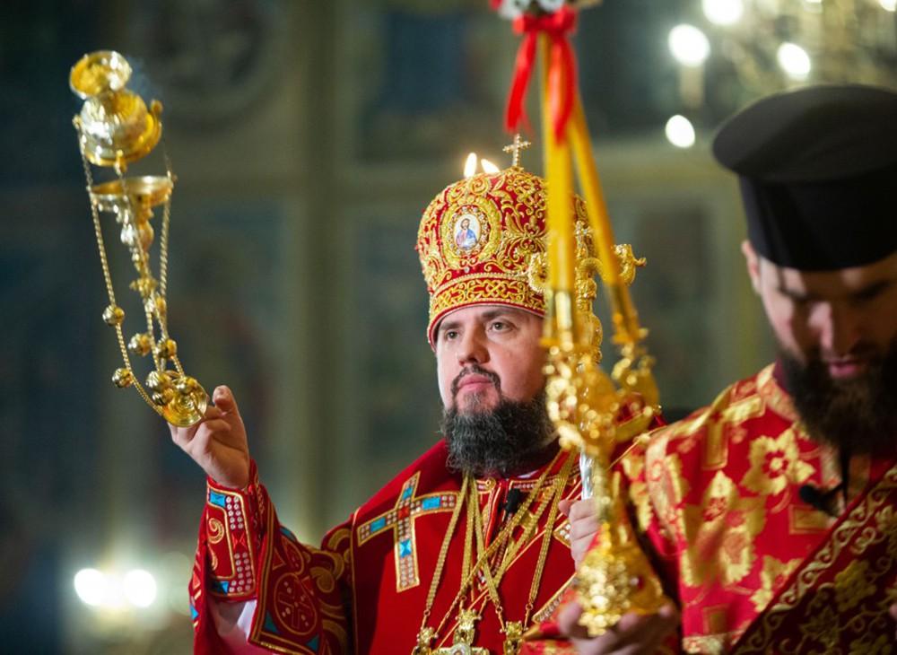 Глава новой Украинской церкви Епифаний