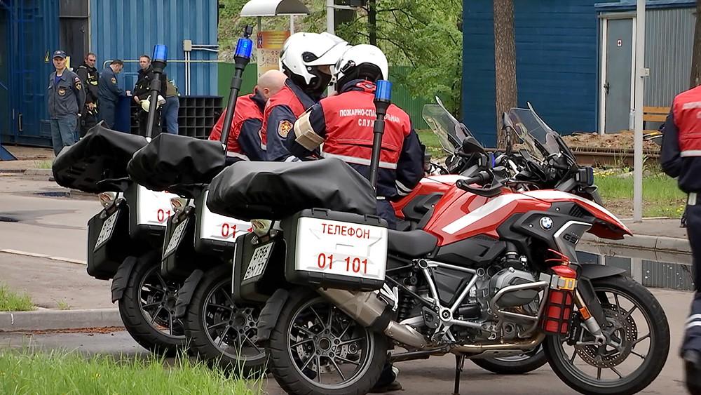 Пожарно-спасательный мотоотряд МЧС