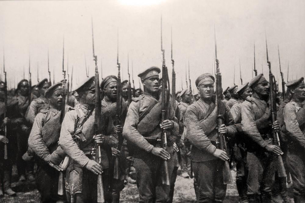 Кадры Первой мировой войны