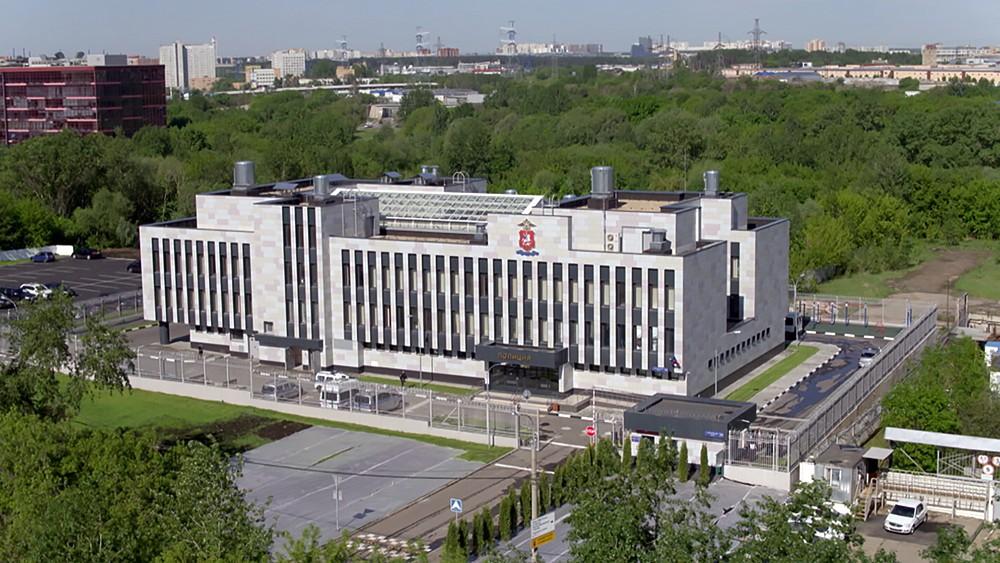 Новое здание ОВД в Москве