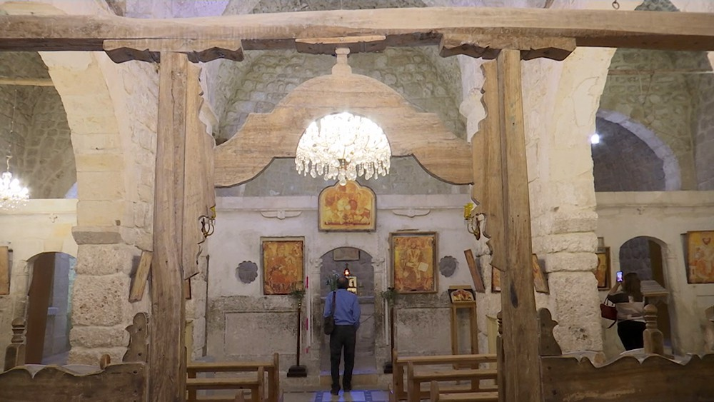 Церковь сирийской Маалюли
