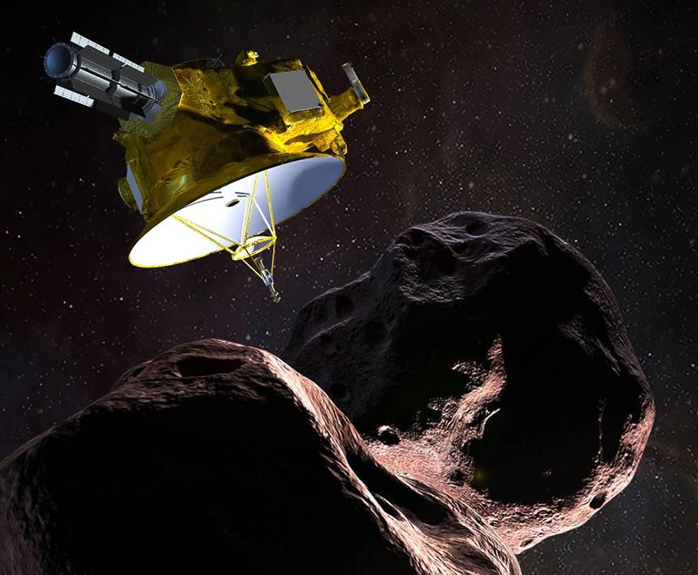 Межпланетная станция New Horizons