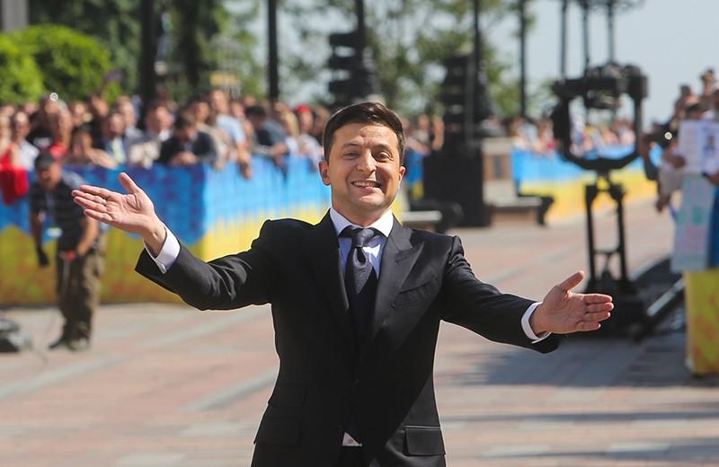Избранный президента Украины Владимир Зеленский