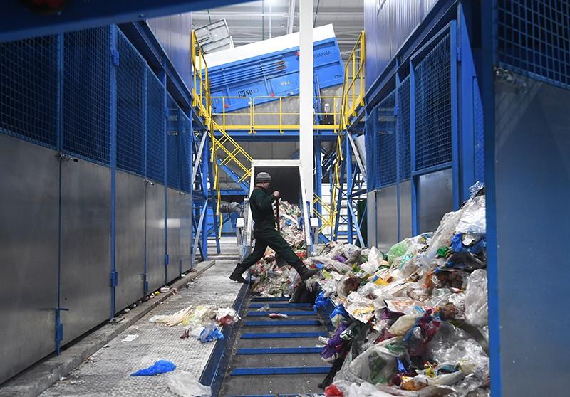 Завод по переработке коммунальных отходов