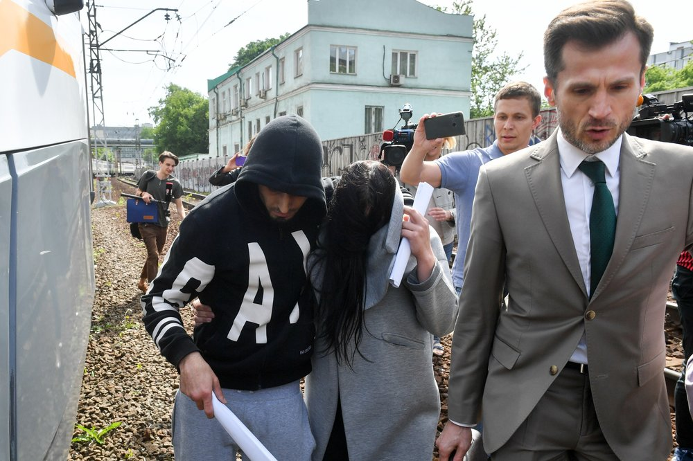 Отпущенная из Савеловского суда 21-летняя гражданка Украины Мария Рудницкая, оставившая двухлетнюю дочь в поликлинике в Москве