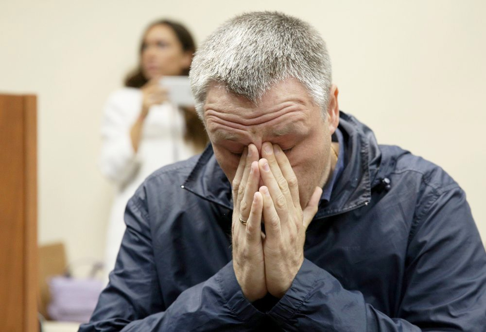 Отец сбитого в Балашихе мальчика Роман Шимко