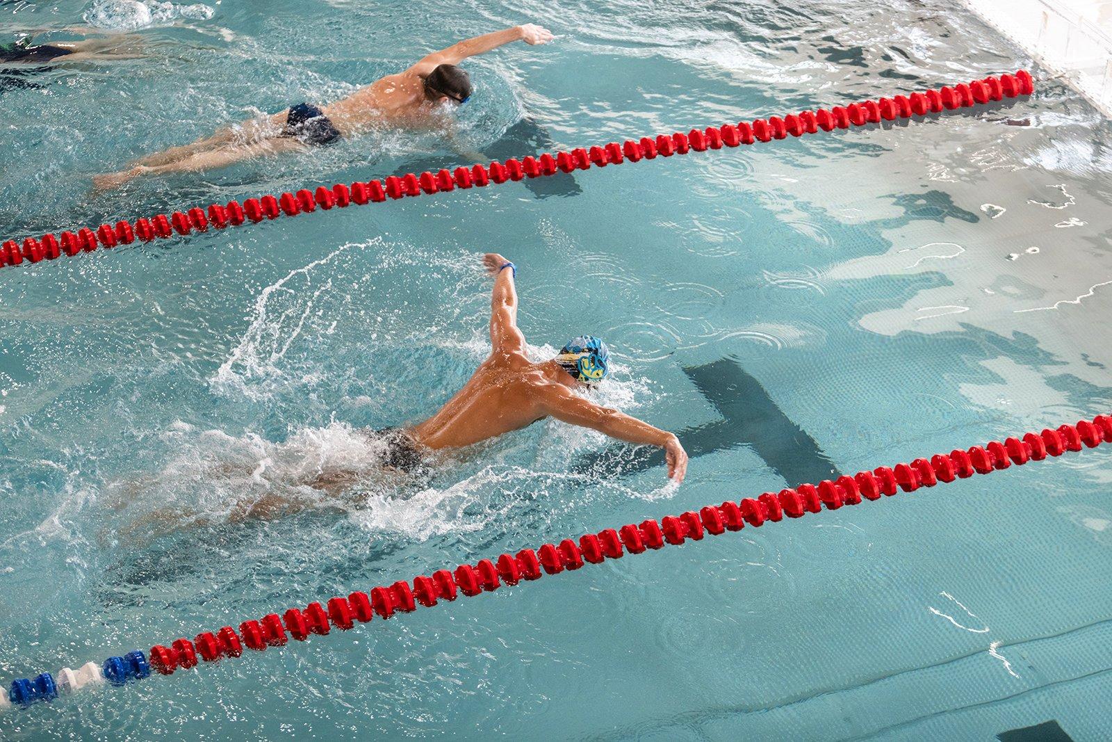Новый плавательный бассейн на территории МГСУ