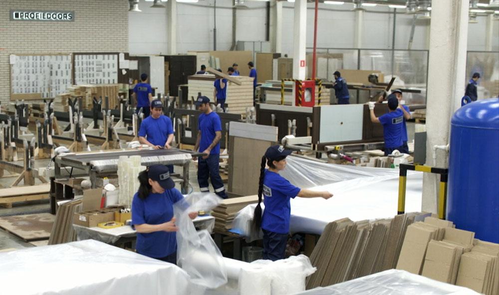 Производственный комплекс деревообрабатывающей промышленности
