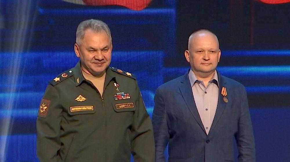 Александр Терентьев и Сергей Шойгу