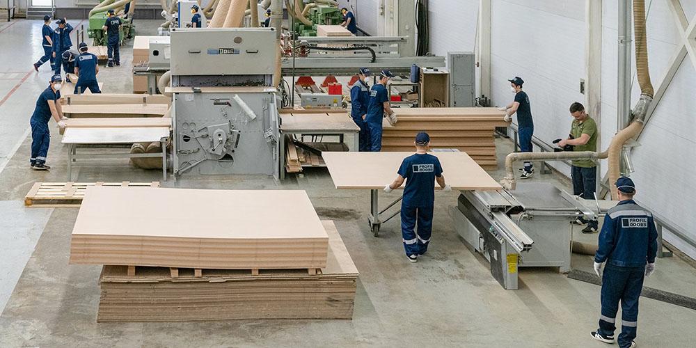 Комплекс деревообрабатывающей промышленности