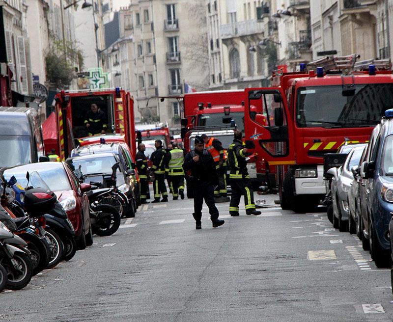 Взрыв во Франции